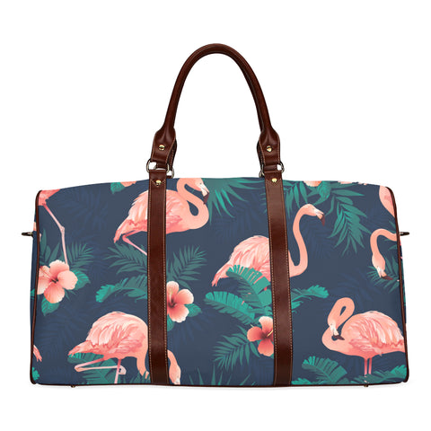 Tropical Flamingo Travel Bag
