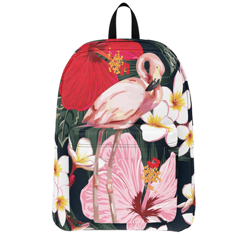 Flamingo Life Hibiscus Backpack - The Flamingo Shop