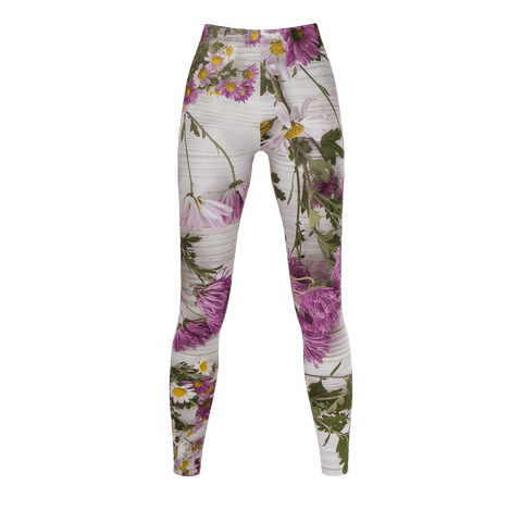 Flamigo Life I Fancy Flowers and Flamingo Leggings - The Flamingo Shop