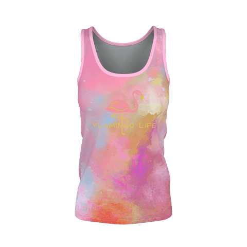 Flamingo Life As Art Womens Tank - The Flamingo Shop