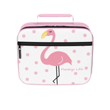 Flamingo Life Pink Polka Dot Lunch Box - The Flamingo Shop