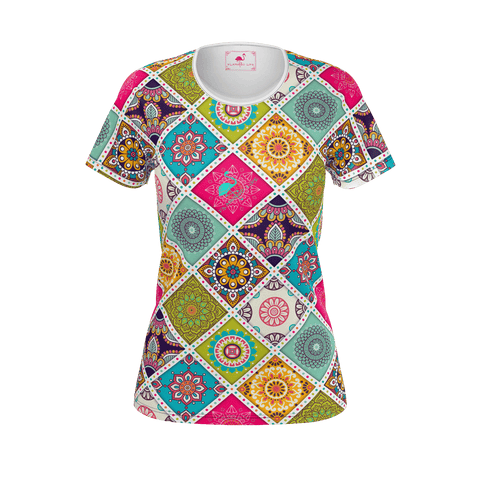 Flamingo Life Tiles Tee - The Flamingo Shop