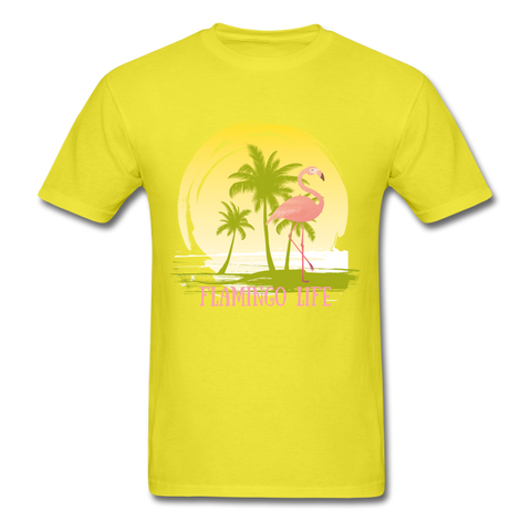 Flamingo Life Men's Sunset T-Shirt - The Flamingo Shop