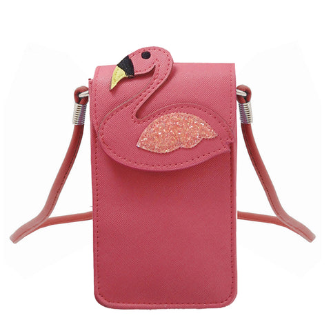 Flamingo Cell Phone Crossbody or Wristlet - The Flamingo Shop