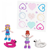 Polly Pocket Flamingo Floatie Pool Compact with Polly & Lila Dolls - The Flamingo Shop