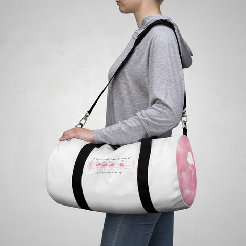 Flamingo Life Jump in the Line Dance Duffel Bag - The Flamingo Shop