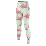 Flamingo Life Green Leggings - The Flamingo Shop