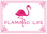 Flamingo Life Don't Make Me Put My Foot Down Womens T-Shirt - The Flamingo Shop