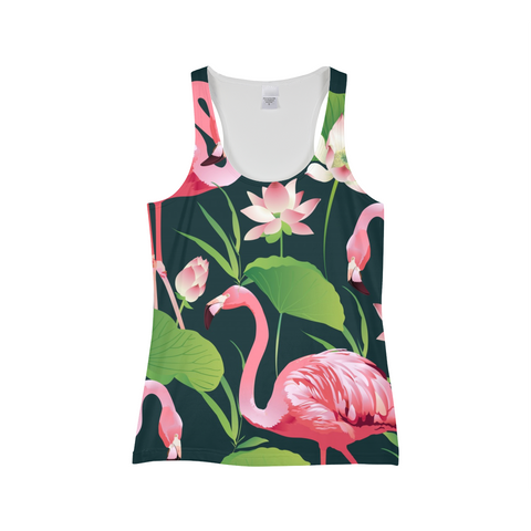 Flamingo Flower Women's Tank - The Flamingo Shop