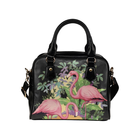 Elegant Flamingos in Paradise Handbag