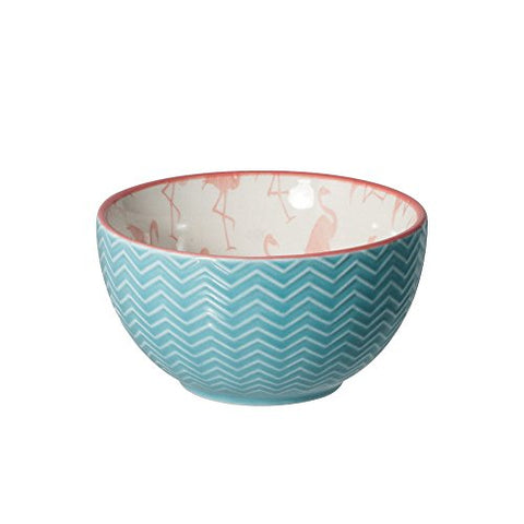 Pfaltzgraff Pink Flamingo Bowl - The Flamingo Shop