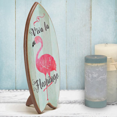 Viva La Flamingo-Lil Kahuna Surfboard - The Flamingo Shop