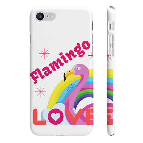 Rainbow Flamingo Love Smartphone Case - The Flamingo Shop