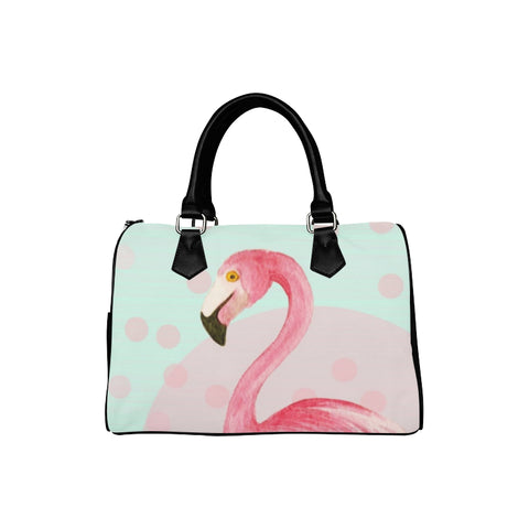 Flamingo Mint with Dots Handbag - The Flamingo Shop