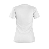 Flamingo Life Womens Tiki Head Tee White - The Flamingo Shop