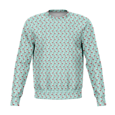 Unisex Flamingo Christmas Sweatshirt