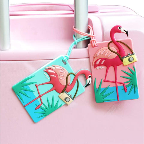 Flamingo Luggage Tag - The Flamingo Shop