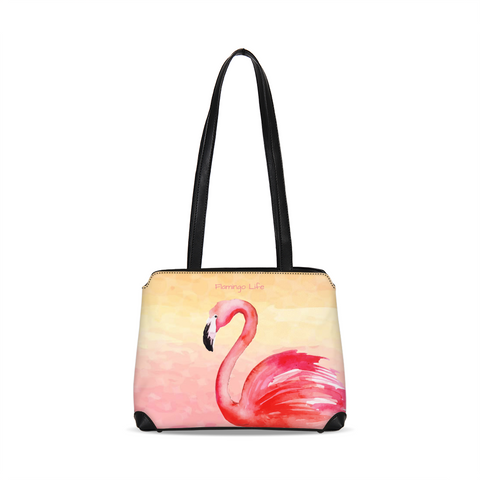 Flamingo Life Pink Sunrise Shoulder Bag - The Flamingo Shop
