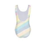 Flamingo Life Pastel Stripes Women's One-Piece Swimsuit - The Flamingo Shop