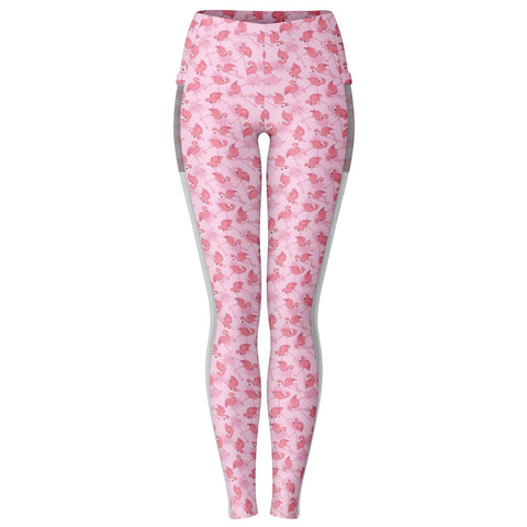 Flamingo Life Flamingo Pocket Leggings - The Flamingo Shop