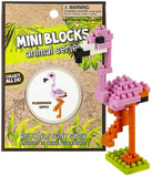 MINI BLOCKS FLAMINGO - The Flamingo Shop