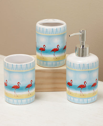Flamingo Paradise Sink Set - The Flamingo Shop