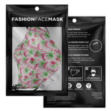 Pretty PInk Flamingos Face Masks with Filters