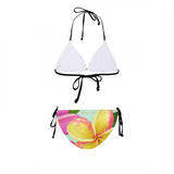 Flamingo Life Tropical Flowers Women's Bikini - The Flamingo Shop