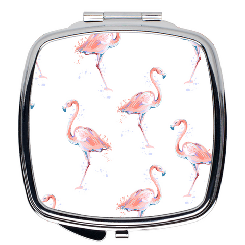 Flamingo Compact Mirror - The Flamingo Shop
