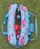 Flamingo Oversized Insulated Cooler Bag