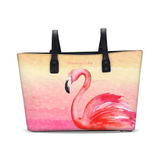 Flamingo Life Pink Sunrise Tote - The Flamingo Shop