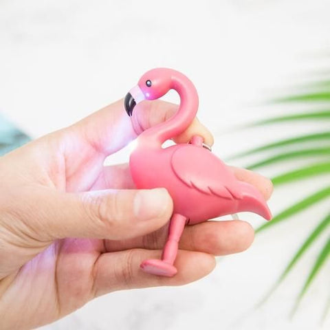 Flamingo Keychain Light - The Flamingo Shop