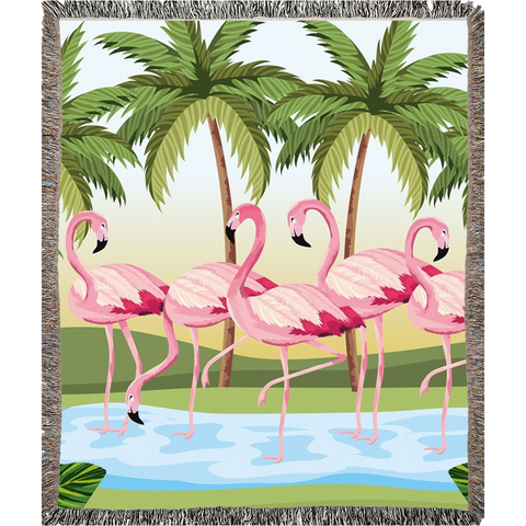 Woven Blankets - The Flamingo Shop