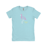 Neon Flamingo Life Women's The Boyfriend Tee