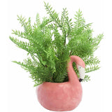 Ceramic Flamingo Planter Pot - The Flamingo Shop