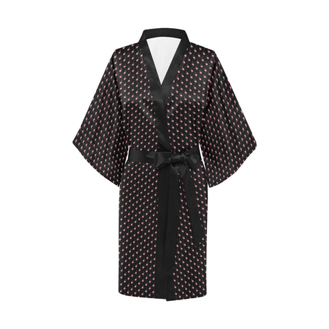 Flamingo Women's Short Kimono Robe - The Flamingo Shop