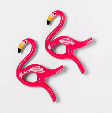 Flamingo Beach Towel Clips - The Flamingo Shop