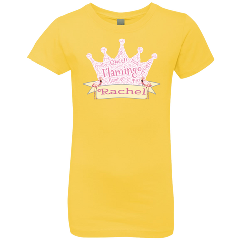 Add YOUR Name - Her Majesty Girls T-Shirt - The Flamingo Shop