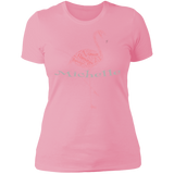 Customize with YOUR NAME - Flamingo T-Shirt - The Flamingo Shop