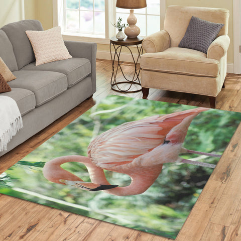 Flamingo Area Rug 7x5 - The Flamingo Shop