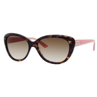 Kate Spade Women's 'Angelique JUH' Tortoise and Pink Cat Eye Sunglasses - The Flamingo Shop