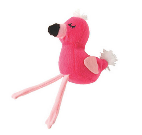 Miniature Stuffed Sleepy Flamingo with Bendable Legs - The Flamingo Shop