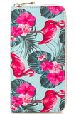 Flamingo Flower Wallet - The Flamingo Shop