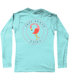 Free Range Chick Flamingo Life SoftStyle Long Sleeve - The Flamingo Shop