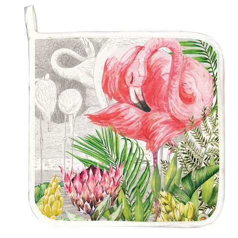 Michel Design Works Flamingo Potholder - The Flamingo Shop