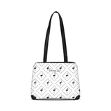 Flamingo Life Black and White Shoulder Bag - The Flamingo Shop