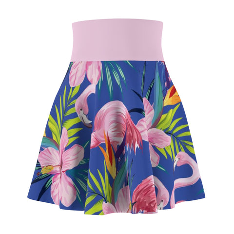 Women's Tropical Flamingo Skirt - The Flamingo Shop