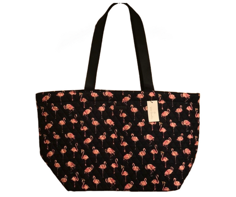 Vera Bradley Fiesta Flamingo Large Family Tote - The Flamingo Shop