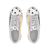 Flamingo Life Stripes and Hearts Shoes Sneakers - The Flamingo Shop