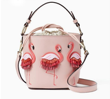 Cute as a Button Flamingo Bucket Bag! - The Flamingo Shop